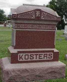 KOSTERS, HEADSTONE - Sioux County, Iowa | HEADSTONE KOSTERS