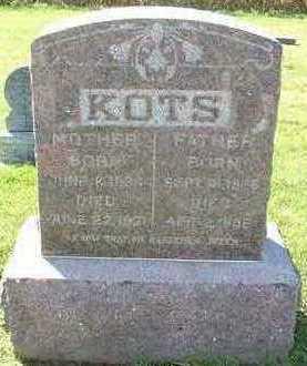 KOTS, FATHER  D.1896 - Sioux County, Iowa | FATHER  D.1896 KOTS