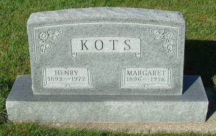 KOTS, HENRY - Sioux County, Iowa | HENRY KOTS