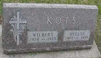 KOTS, WILBERT - Sioux County, Iowa | WILBERT KOTS