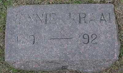 KRAAI, JENNIE  D.1923 - Sioux County, Iowa | JENNIE  D.1923 KRAAI