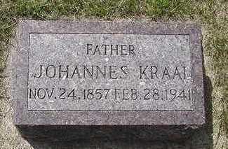 KRAAI, JOHANNES K. - Sioux County, Iowa | JOHANNES K. KRAAI