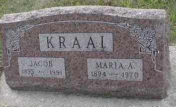 KRAAI, MARIA A. - Sioux County, Iowa | MARIA A. KRAAI