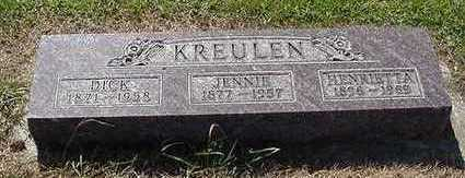 KREULEN, JENNIE - Sioux County, Iowa | JENNIE KREULEN
