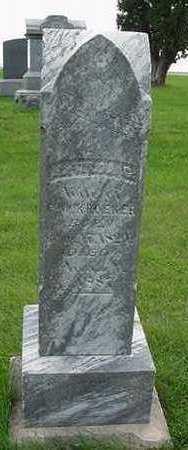 KROEKER, MATHILDA G. (MRS. G. W. ) - Sioux County, Iowa | MATHILDA G. (MRS. G. W. ) KROEKER