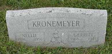 KRONEMEYER, NELLIE - Sioux County, Iowa | NELLIE KRONEMEYER