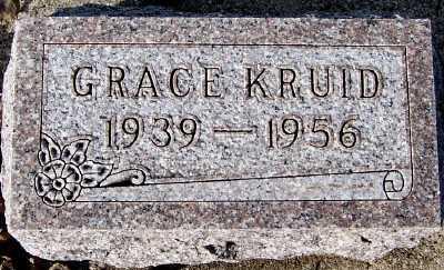 KRUID, GRACE - Sioux County, Iowa   GRACE KRUID