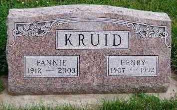 KRUID, HENRY - Sioux County, Iowa | HENRY KRUID