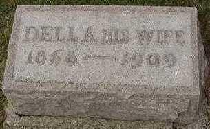 KUHL, DELLA, MRS. CHARLES - Sioux County, Iowa   DELLA, MRS. CHARLES KUHL