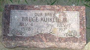 KUIKEN, BRUCE JR.  (BABY) - Sioux County, Iowa | BRUCE JR.  (BABY) KUIKEN