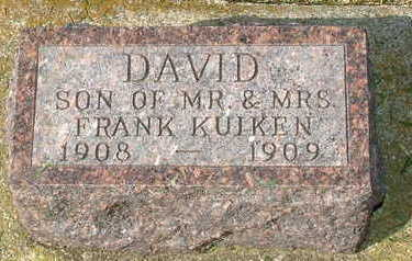 KUIKEN, DAVID - Sioux County, Iowa | DAVID KUIKEN