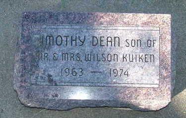KUIKEN, TIMOTHY DEAN - Sioux County, Iowa | TIMOTHY DEAN KUIKEN