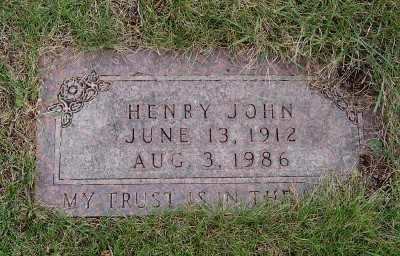 KUIPER, HENRY JOHN - Sioux County, Iowa   HENRY JOHN KUIPER