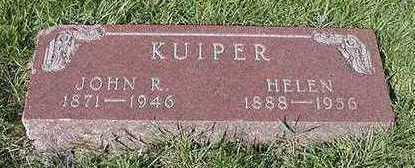 KUIPER, JOHN R. - Sioux County, Iowa | JOHN R. KUIPER