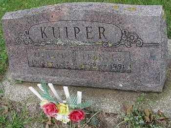KUIPER, FRANCES - Sioux County, Iowa | FRANCES KUIPER