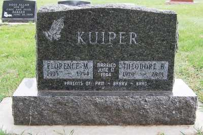 KUIPER, FLORENCE M. - Sioux County, Iowa | FLORENCE M. KUIPER