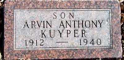 KUYPER, ARVIN ANTHONY - Sioux County, Iowa | ARVIN ANTHONY KUYPER