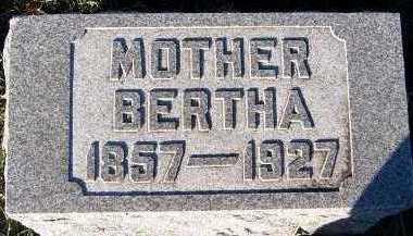 KUYPER, BERTHA - Sioux County, Iowa | BERTHA KUYPER