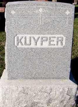KUYPER, FAMILY HEADSTONE - Sioux County, Iowa   FAMILY HEADSTONE KUYPER