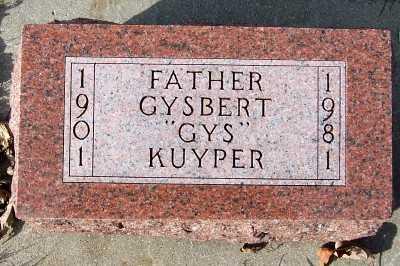KUYPER, GYSBERT (GYS) - Sioux County, Iowa   GYSBERT (GYS) KUYPER