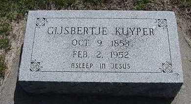 KUYPER, GIJSBERTJE - Sioux County, Iowa   GIJSBERTJE KUYPER