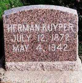 KUYPER, HERMAN - Sioux County, Iowa | HERMAN KUYPER