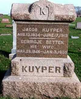 KUYPER, JACOB - Sioux County, Iowa | JACOB KUYPER