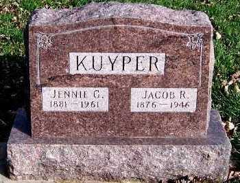 KUYPER, JACOB R. - Sioux County, Iowa | JACOB R. KUYPER
