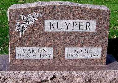 KUYPER, MARIE - Sioux County, Iowa | MARIE KUYPER