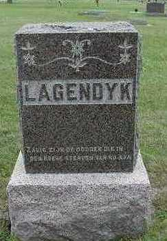 LAGENDYK, HEADSTONE - Sioux County, Iowa | HEADSTONE LAGENDYK