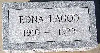 LAGOO, EDNA - Sioux County, Iowa   EDNA LAGOO
