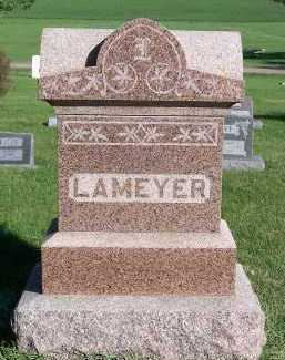 LAMEYER, HEADSTONE - Sioux County, Iowa | HEADSTONE LAMEYER
