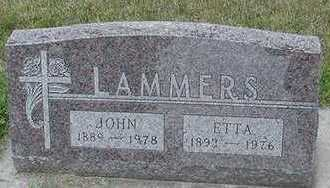 LAMMERS, JOHN - Sioux County, Iowa | JOHN LAMMERS