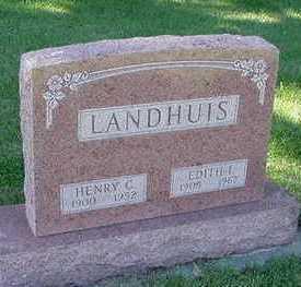 LANDHUIS, HENRY C. - Sioux County, Iowa | HENRY C. LANDHUIS