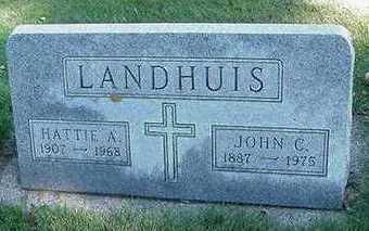 LANDHUIS, HATTIE A. - Sioux County, Iowa | HATTIE A. LANDHUIS
