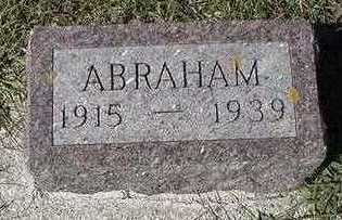 LANGSTRAAT, ABRAHAM - Sioux County, Iowa   ABRAHAM LANGSTRAAT