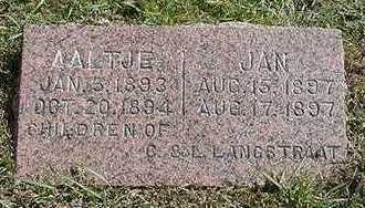 LANGSTRAAT, JAN - Sioux County, Iowa | JAN LANGSTRAAT