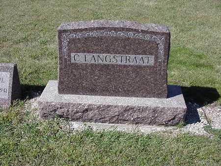 LANGSTRAAT, C. - Sioux County, Iowa | C. LANGSTRAAT
