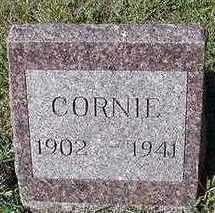 LANGSTRAAT, CORNIE - Sioux County, Iowa   CORNIE LANGSTRAAT