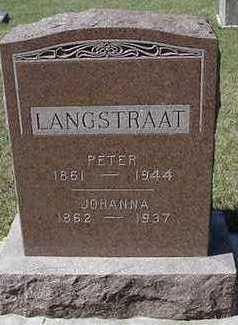 LANGSTRAAT, JOHANNA - Sioux County, Iowa | JOHANNA LANGSTRAAT