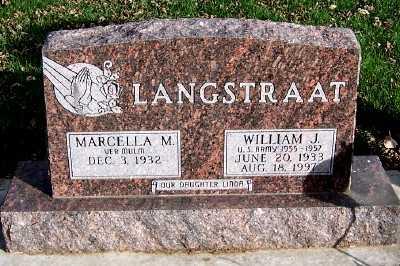LANGSTRAAT, WILLIAM J. - Sioux County, Iowa | WILLIAM J. LANGSTRAAT