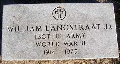 LANGSTRAAT, WILLIAM JR. - Sioux County, Iowa | WILLIAM JR. LANGSTRAAT
