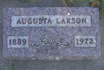 LARSON, AUGUSTA - Sioux County, Iowa | AUGUSTA LARSON
