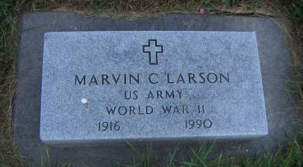 LARSON, MARVIN C. - Sioux County, Iowa | MARVIN C. LARSON
