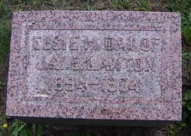 LAWTON, ELSIE - Sioux County, Iowa | ELSIE LAWTON