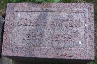 LAWTON, JOHN - Sioux County, Iowa | JOHN LAWTON