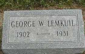 LEEMKUIL, GEORGE W. - Sioux County, Iowa   GEORGE W. LEEMKUIL