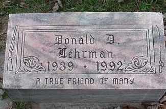 LEHRMAN, DONALD D. - Sioux County, Iowa | DONALD D. LEHRMAN
