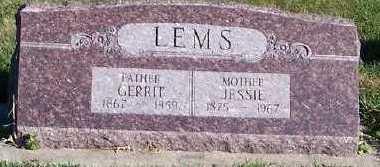 LEMS, JESSIE - Sioux County, Iowa | JESSIE LEMS