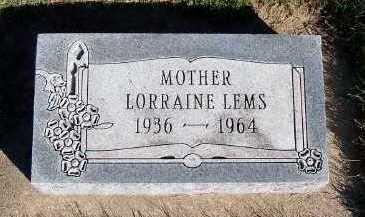 LEMS, LORRAINE - Sioux County, Iowa | LORRAINE LEMS